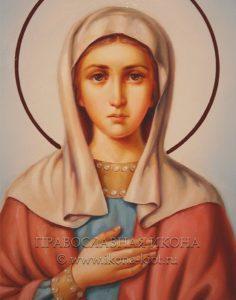 Икона «Ева Праматерь» (образец №7)