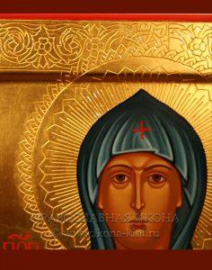 Икона «Евдокия Московская (Евфросиния)» (образец №5)