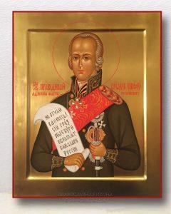 Икона «Федор Ушаков» (образец №3)