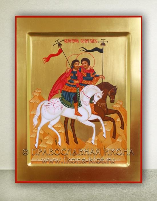 Икона «Флор и Лавр, святые мученики»