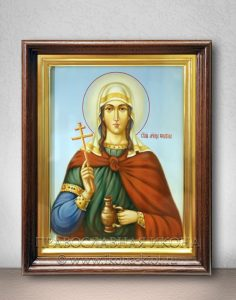 Икона «Фотина (Светлана) Самаряныня Римская» (образец №6)
