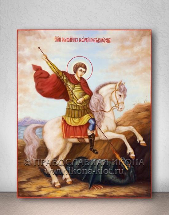 Икона «Георгий Победоносец (чудо о змие)» (образец №12)