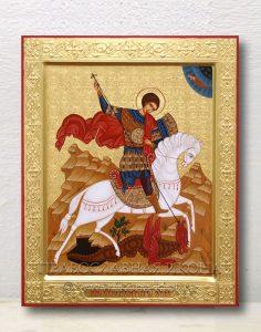 Икона «Георгий Победоносец (чудо о змие)» (образец №14)