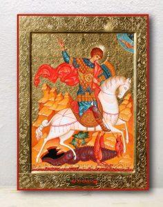 Икона «Георгий Победоносец (чудо о змие)» (образец №16)
