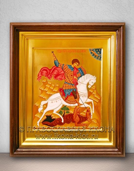 Икона «Георгий Победоносец (чудо о змие)» (образец №18)
