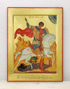 Икона «Георгий Победоносец (чудо о змие)» (образец №2)