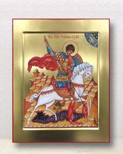 Икона «Георгий Победоносец (чудо о змие)» (образец №20)