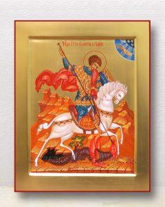 Икона «Георгий Победоносец (чудо о змие)» (образец №21)
