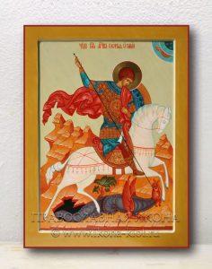 Икона «Георгий Победоносец (чудо о змие)» (образец №3)