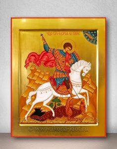 Икона «Георгий Победоносец (чудо о змие)» (образец №6)