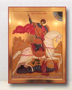 Икона «Георгий Победоносец (чудо о змие)» (образец №8)