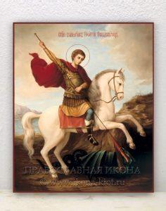 Икона «Георгий Победоносец (чудо о змие)» (образец №9)