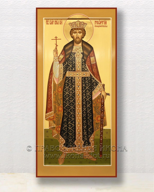 Икона «Георгий Владимирский, благоверный князь» (образец №2)