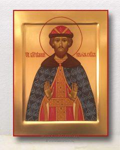 Икона «Глеб князь Благоверный» (образец №1)