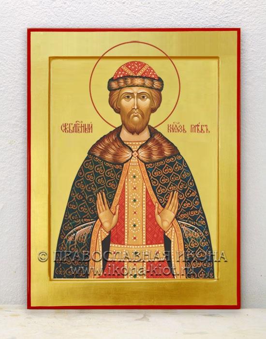 Икона «Глеб князь Благоверный» (образец №2)