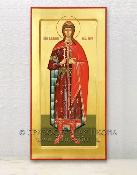 Икона «Глеб князь Благоверный» (образец №3)
