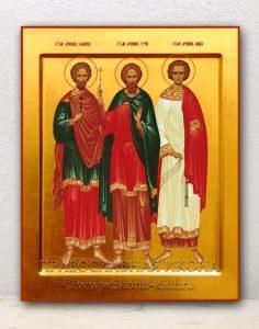 Икона «Гурий, Самон и Авив, мученики»