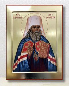 Икона «Иннокентий, митрополит Московский» (образец №3)