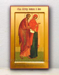 Икона «Иоаким и Анна, праведные» (образец №2)