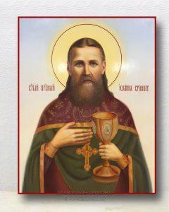 Икона «Иоанн Кронштадтский, праведный» (образец №5)