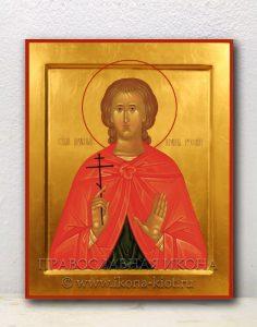 Икона «Иоанн Русский, праведный» (образец №1)