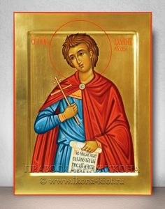 Икона «Иоанн Русский, праведный» (образец №3)