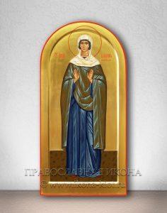 Икона «Иулиания Лазаревская (Муромская)» (образец №2)
