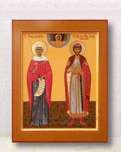 Икона «Калерия мученица и Игорь князь»