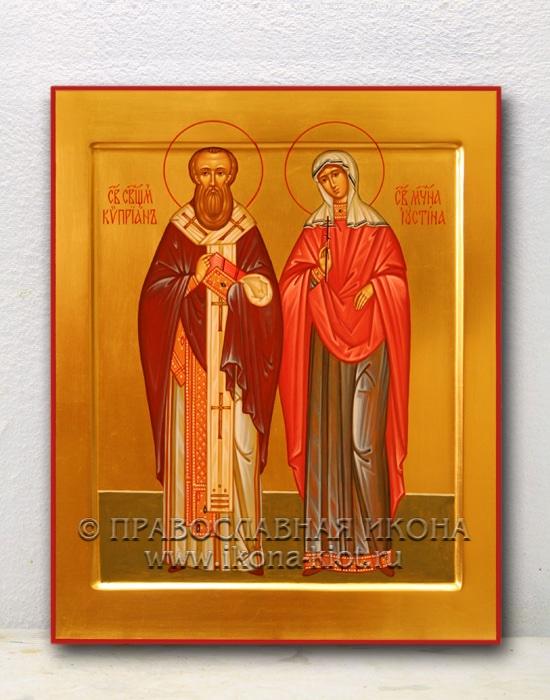 Икона «Киприан и Иустина» (образец №2)
