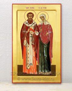Икона «Киприан и Иустина» (образец №3)