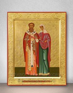 Икона «Киприан и Иустина» (образец №1)