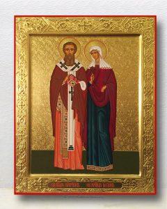 Икона «Киприан и Иустина» (образец №4)