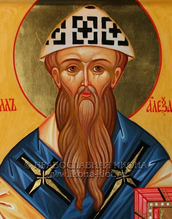 Икона «Кирилл Александрийский» (образец №3)