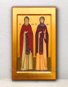 Икона «Кирилл и Мария Радонежские» (образец №3)