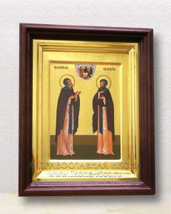 Икона «Кирилл и Мария Радонежские» (образец №10)