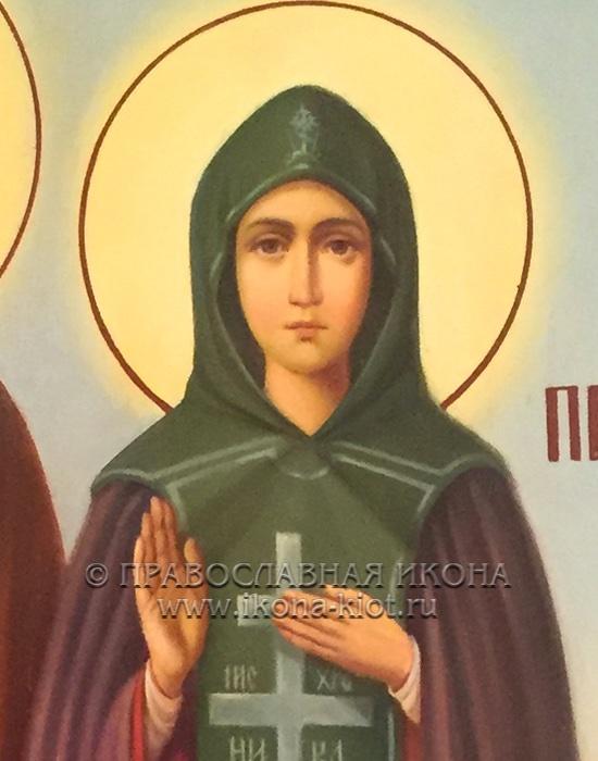 Икона «Кирилл и Мария Радонежские» (образец №7)