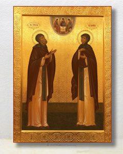 Икона «Кирилл и Мария Радонежские»