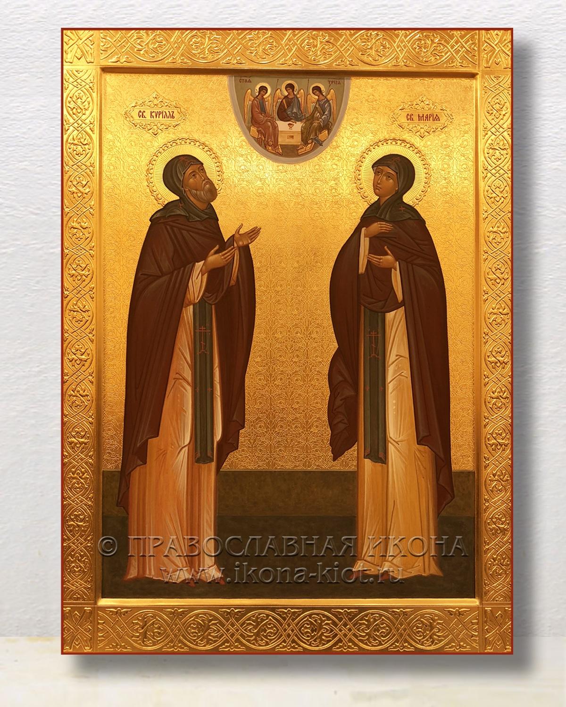 Икона «Кирилл и Мария Радонежские» (образец №1)