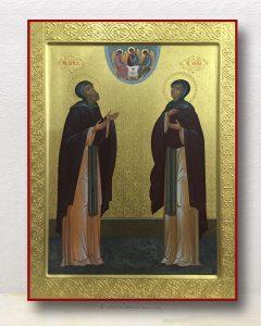 Икона «Кирилл и Мария Радонежские» (образец №5)