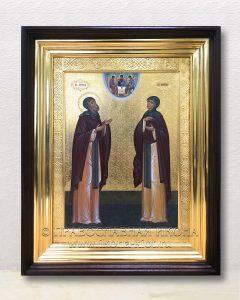 Икона «Кирилл и Мария Радонежские» (образец №6)