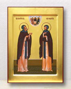 Икона «Кирилл и Мария Радонежские» (образец №9)