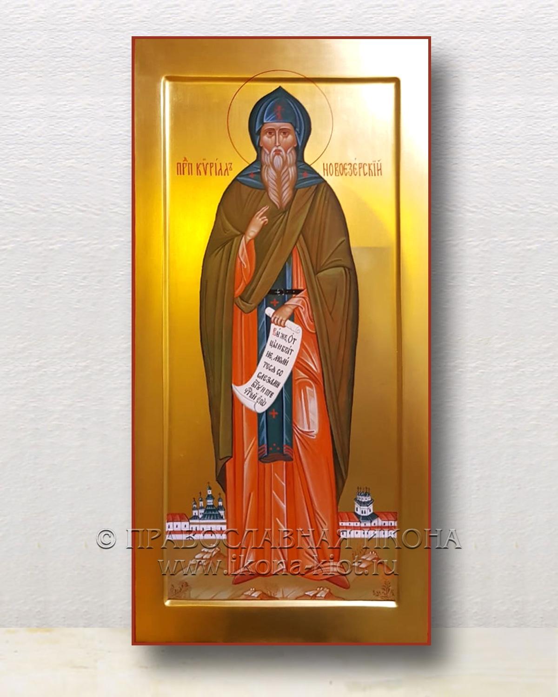 Икона «Кирилл Новоезерский, преподобный»