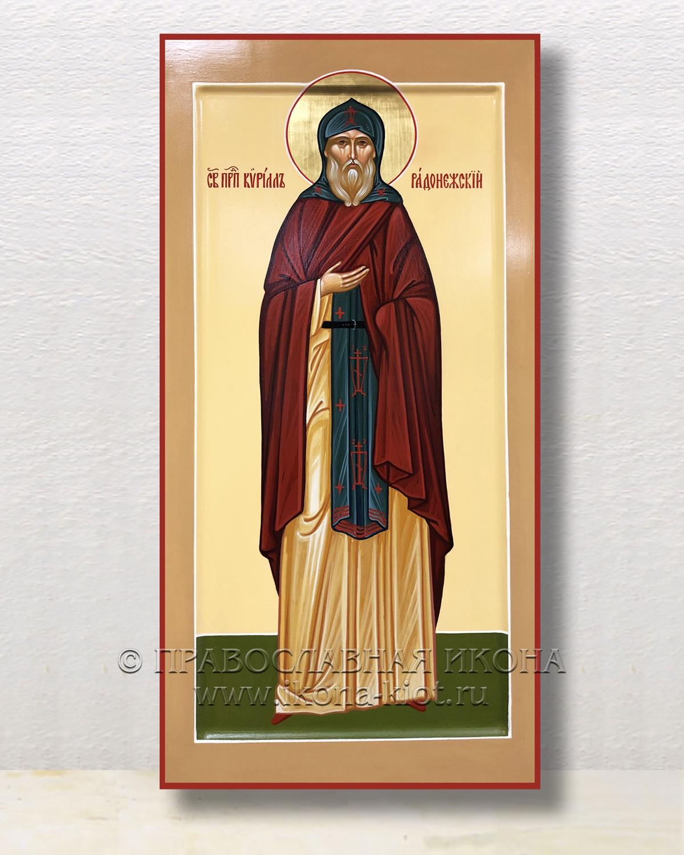 Икона «Кирилл Радонежский, преподобный» (образец №4)