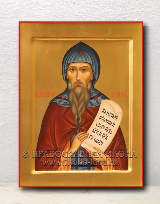 Икона «Кирилл Моравский, равноапостольный» (образец №1)
