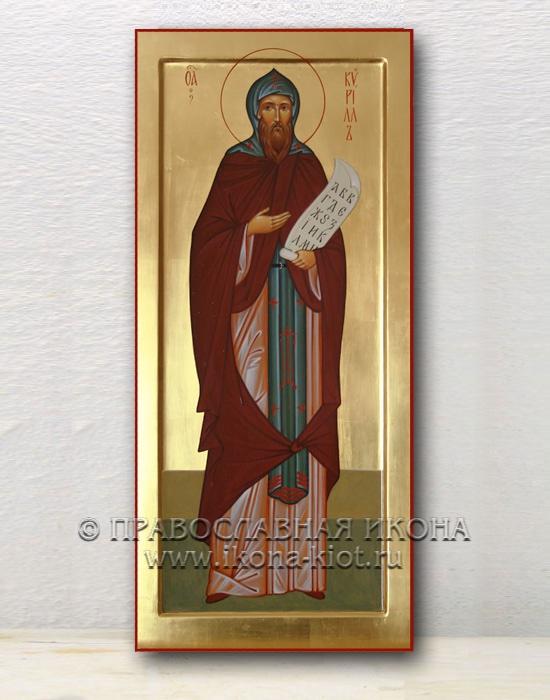 Икона «Кирилл Моравский, равноапостольный» (образец №2)