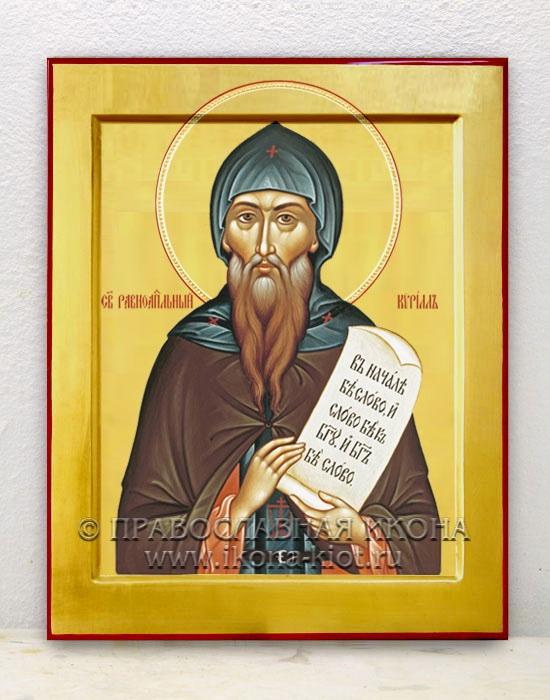 Икона «Кирилл Моравский, равноапостольный» (образец №3)