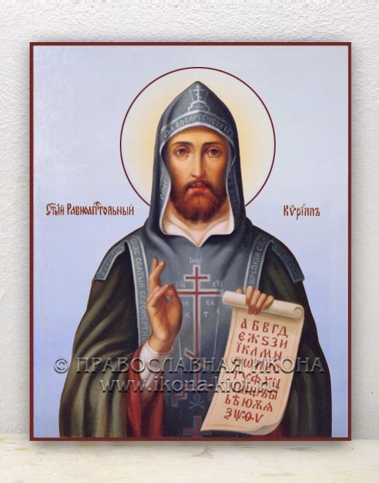 Икона «Кирилл Моравский, равноапостольный» (образец №6)