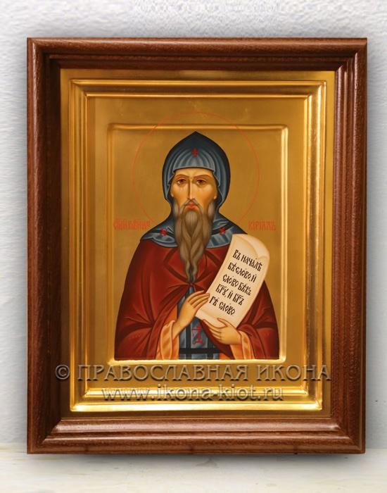Икона «Кирилл Моравский, равноапостольный» (образец №7)