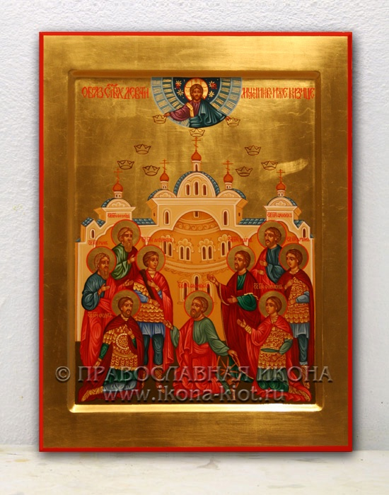 Икона «Кизические мученики» (образец №1)