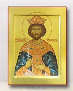 Икона «Константин Великий равноапостольный» (образец №10)